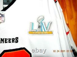 Brand New NIKE Tampa Bay Bucs TOM BRADY SUPER BOWL 55 Football Jersey, SizeXL