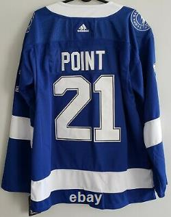 Brayden Point #21, Tampa Bay Lightning 2020 Stanley Cup Champs Jersey. Size XXL