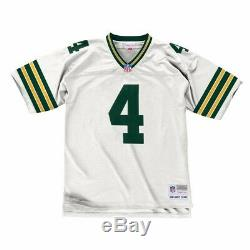 Brett Favre 1996 Green Bay Packers Mitchell & Ness Road White Legacy Jersey