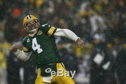 Brett Favre 2007 Green Bay Packers Authentic Home NFL Game Jersey Size 50