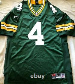 Brett Favre Green Bay Packers 1997 1998 1999 2000 authentic Nike game jersey NEW