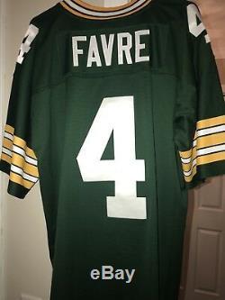 Brett Favre Green Bay Packers Mitchell & Ness Replica Jersey XL $150