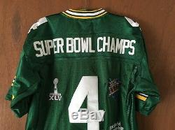 Brett Favre Green Bay Packers Super Bowl Champs Jersey XXXI NEW NWT M&N 50 VTG