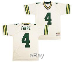 Brett Favre Green Bay Packers White 1996 Replica Jersey XL