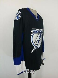 CCM Center Ice Tampa Bay Lightning NHL Chandail Hockey Jersey Adult Mens Sz 50