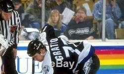 CHRIS GRATTON Tampa Bay Lightning 1995 CCM Throwback NHL Hockey Jersey