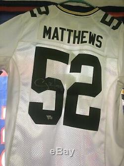 Clay Matthews Green Bay Packers Autographed Nike Onfield Jersey NWT Fanatics