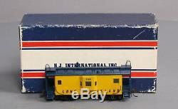 Custom NJ Brass RS-669 HO BRASS Long Island N22B Bay Window Caboose/Box