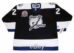 DAN BOYLE Tampa Bay Lightning 2004 CCM Throwback Home NHL Hockey Jersey