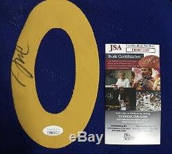 DeMarcus Cousins Signed Golden State Warriors The Bay Jersey JSA COA