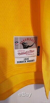 Derrick Brooks 1995 Tampa Bay Buccaneers Mitchell & Ness NFL Legacy Jersey New