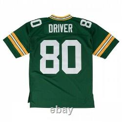 Donald Driver Green Bay Packers Mitchell & Ness 2000 Legacy Home Men Jersey