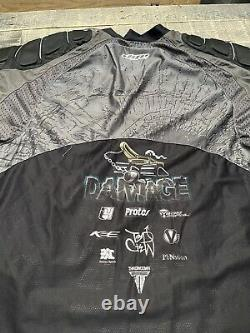 Dye paintball jersey Tampa Bay Damage Team Autographed 2009 Justin Rabackoff