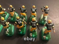 Electric football Players Green Bay Packers Dark Jerseys- 12 Figures