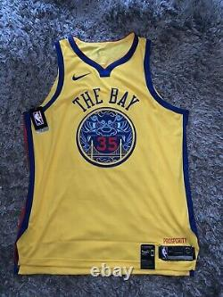 Golden State Warriors Aeroswift Kevin Durant THE BAY Jersey Men's XL 52