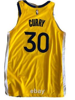 Golden State Warriors Bay Stephen Curry Jersey (authentic/badge) Size 48 L NWT