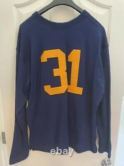 Green Bay Packers 1929 Authentic Football Jersey Ebbets Field Vintage Size L