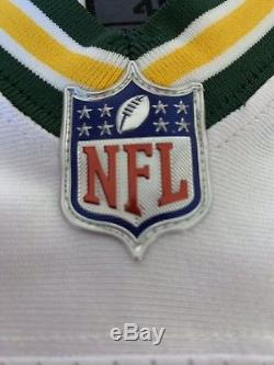Green Bay Packers Aaron Rodgers Authentic Nike Elite Jersey Size 40