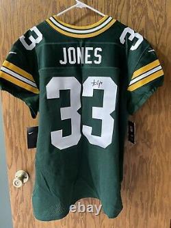 Green Bay Packers Autographed Aaron Jones Jersey