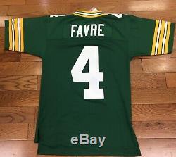 Green Bay Packers Brett Favre Mitchell & Ness NFL Throwback Jersey