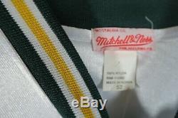 Green Bay Packers Brett Favre Mitchell & Ness Superbowl Jersey Size 52