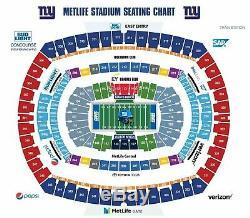 Green Bay Packers vs NY Giants, 4 Tixs + Parking Pass, 12/1/19 Sec 248, Row 1