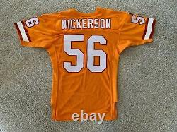 Hardy Nickerson Tampa Bay Buccaneers Bucs authentic team issued pro cut jersey