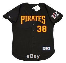 JASON BAY Pittsburgh Pirates 2005 Majestic Throwback Baseball Jersey