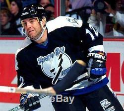 JOHN CULLEN Tampa Bay Lightning 1996 CCM Throwback NHL Hockey Jersey