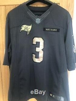 Jameis Winston Tampa Bay Buccaneers Salute To Service Jersey XL