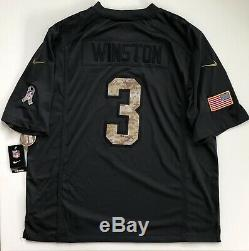 Jameis Winston Tampa Bay Buccaneers Salute To Service Nike Limited Jersey 2XL
