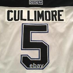 Jassen Cullimore Tampa Bay Lightning 2004 Stanley Cup White Jersey Size 52-NWT