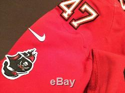 John Lynch Tampa Bay Buccaneers Authentic Nike Elite Jersey size 48 no name NWOT