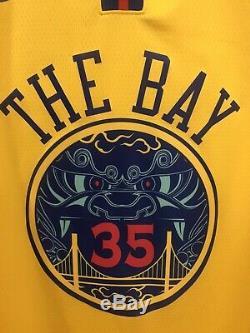 Kevin Durant Signed GSW The Bay Swingman Jersey (JSA) 52, NWT