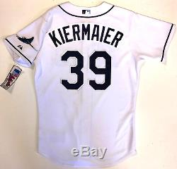 Kevin Kiermaier Tampa Bay Rays Majestic Authentic Home Jersey 44 New With Tags