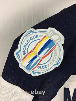 Kids RYAN McDONAGH Tampa Bay Lightning USA World Cup Hockey Youth Jersey L/XL