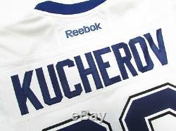 Kucherov Tampa Bay Lightning Authentic Away Team Issued Reebok Edge 2.0 Jersey