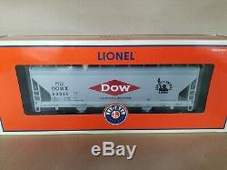 LIONEL 27141 Jersey Central DOW CHEMICAL ACF 3 BAY HOPPER STANDARD O 20 Made
