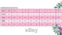 Lilly Pulitzer Tala Bay Blue Pop Pop Print Stretch Knit Jersey Short Romper $138