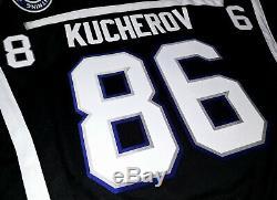 MEN-NWT-LG NIKITA KUCHEROV TAMPA BAY LIGHTNING 2014 REEBOK BOLTS 3rd NHL JERSEY