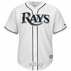 MLB Tampa Bay Rays Majestic Replica Cool Base Home Jersey Shirt Mens Fanatics