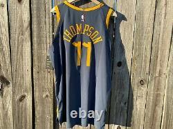 Men's Nike NBA Klay Thompson The Bay City VaporKnit Authentic Jersey AH6209-430