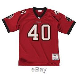 Mike Alstott 2002 Tampa Bay Buccaneers Mitchell & Ness Men NFL Red Legacy Jersey