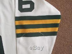Mitchell & Ness 1966 Green Bay Packers Ray Nitschke Road jersey size 48 NWOT'04