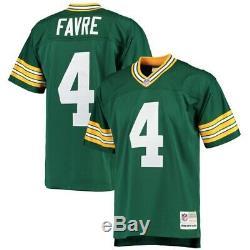 Mitchell & Ness Brett Favre Green Bay Packers NFL Football Vintage Jersey XL