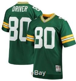 Mitchell & Ness Donald Driver #80 NFL Green Bay Packers Green Replica Jersey