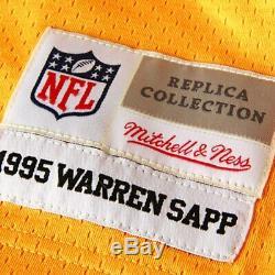 Mitchell & Ness Tampa Bay Bucs Warren Sapp #99 Stitched Jersey Size Small 36