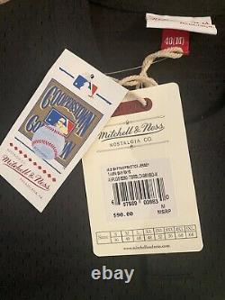 Mitchell & Ness Wade Boggs Tampa Bay Devil Rays 1998 Batting Jersey Size Medium