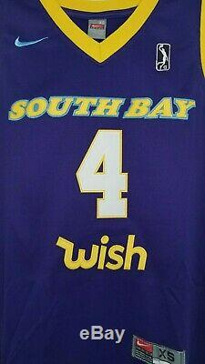NEW Alex Caruso #4 South Bay G League Custom Retro Throwback Basketball Jersey