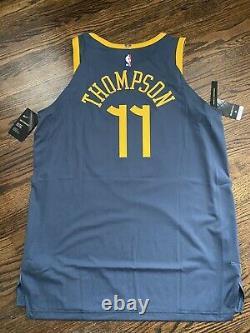 NEW Nike Klay Thompson The Bay City VaporKnit Authentic Stitched Jersey Sz 52 XL